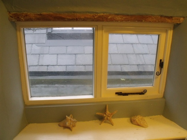 Fitted window in period propert refurb